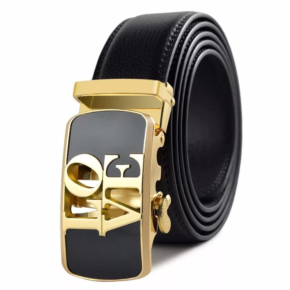 1219ef325065ad ceinture/love saint-valentin automatique pour homme couleur or 120 ...