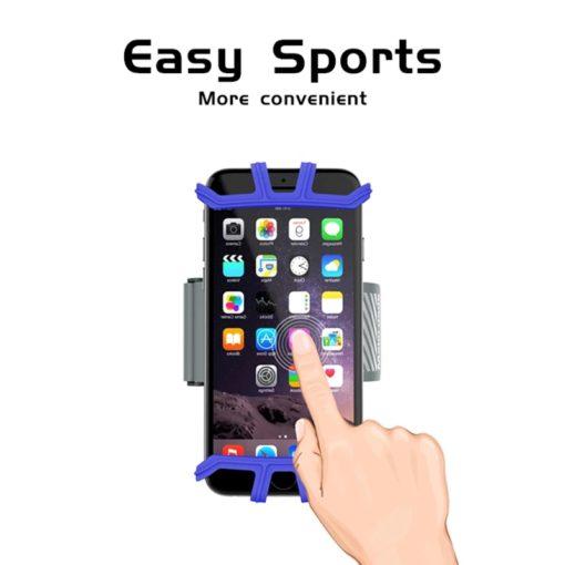 support au bras et avant bras sport rotation 360° pour tout types de smartphones