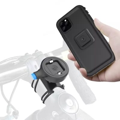 support pour smartphones universel à clip portatif pour la moto-vélo-scooter-poussette maman enfant