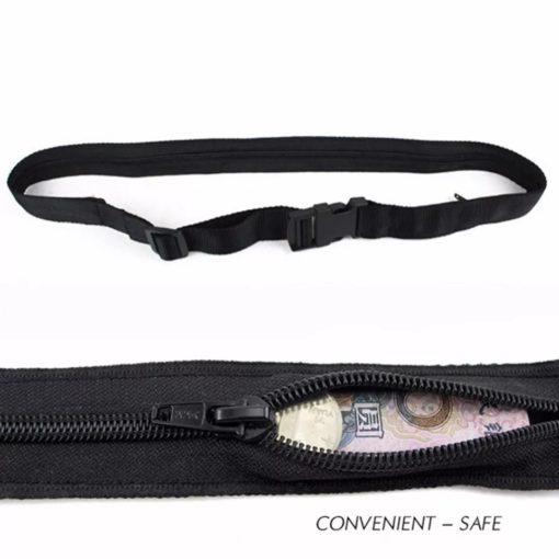 la ceinture anti-vol cachette secréte pour le sport ou le voyage