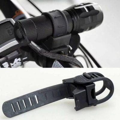 support/porte lampe pour vélo
