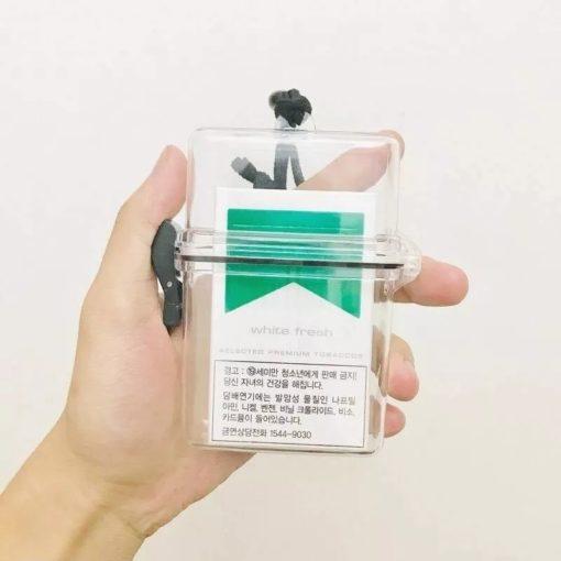 boite de protection étanche pour cigarettes