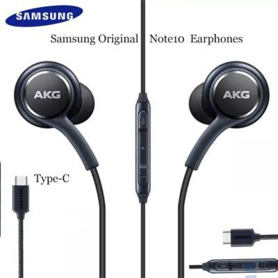ecouteurs filaire AKG eo IG955 type C in-ear avec micro couleur noir