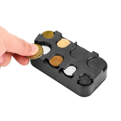 organisateur de monnaie euro gains de temps lors de votre passage à la caisse pour taxi ou dans sac à main