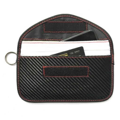 pochette/bouclier cage sac de faraday anti-vol blocage des signaux anti-vol pour voitures possédant une clé inteligente