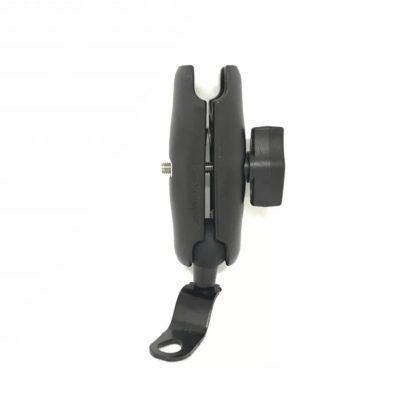 support bras d'acouplement pour support à rotule matière plastic rigide solide