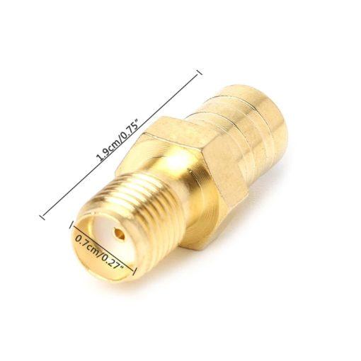 Adaptateur/Raccord d'antenne radio numérique SMA femelle